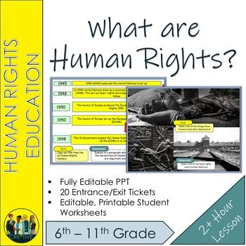 What Are Human Rights What Are Human Rights What Is Human World History Lessons