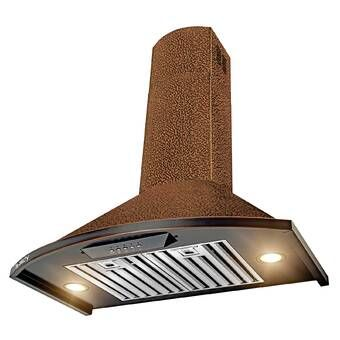 30 Hand Crafted Designer Wood 400 Cfm Ducted Wall Mount Range Hood Wall Mount Range Hood Range Hood Wall Mount