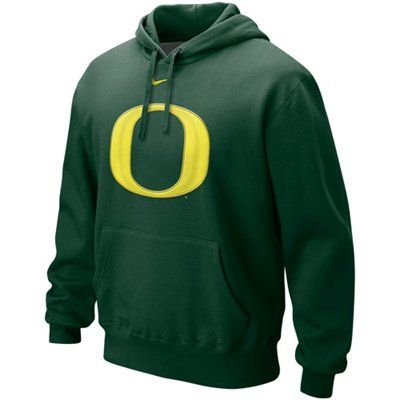 5 - Nike Oregon Ducks Green Classic Logo Pullover Hoodie Sweatshirt ac2b5d7b27
