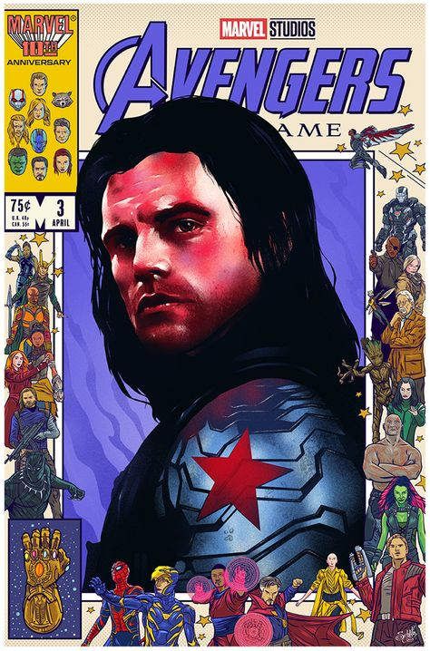 Avengers Endgame poster tribute - Home of the Alternative Movie Poster -AMP-