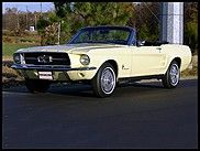 1967 Ford Mustang Convertible 200CI Automatic