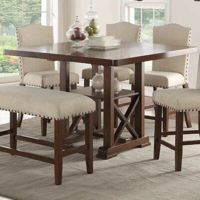 38++ Tall dining room table set Trending