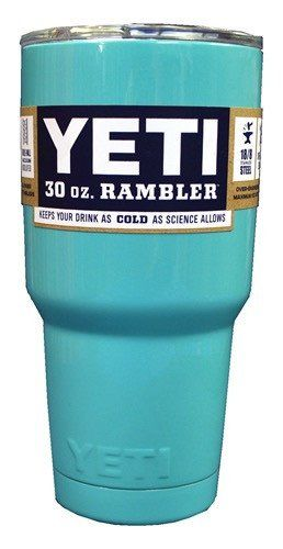 Light Blue Yeti Rambler 30 oz. Cup