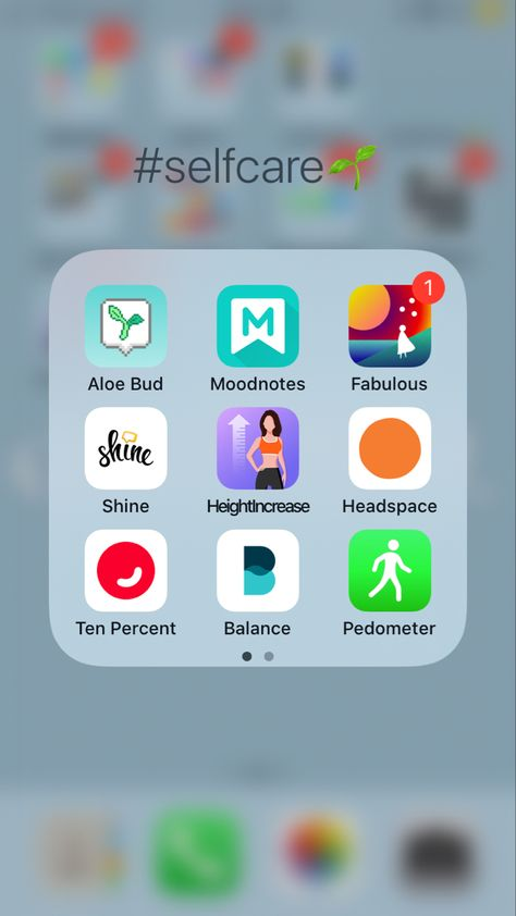Self Care Must : Have Apps
