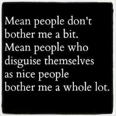 Are you nice? Mean people do upset me, though. Mostly people who take advantage of others and are inhumane. Inconsiderate and stuck up people (people who believe that they are superior to others) can be pretty annoying too.