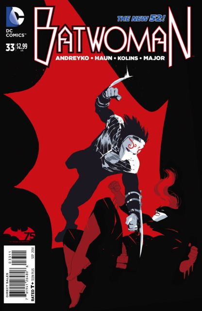 Batwoman 32 Deadly Is The Night Issue Batwoman Comics Comic Book Covers
