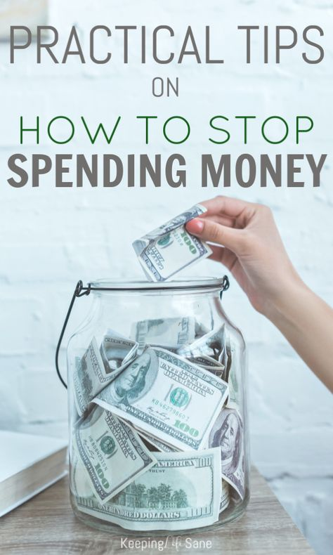 Practical Tips on How to Stop Spending Money