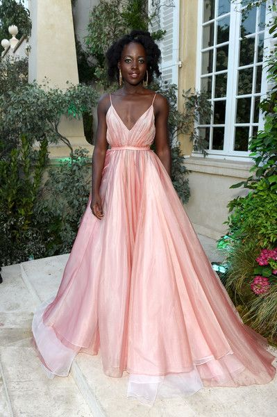 Lupita Nyong'o attends Chopard Secret Night during the 71st annual Cannes Film Festival.