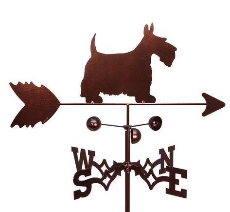 SWEN Products YORKSHIRE TERRIER DOG Steel Weathervane