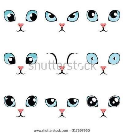 Eye Drawing Illustration 50 Ideas Cartoon Eyes Drawing Cute
