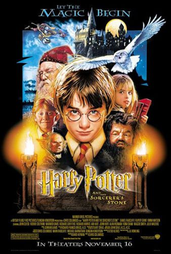 Harry Potter And The Sorcerer S Stone Movie Poster Regular 27 X 40 Harry Potter Movie Posters Harry Potter Poster Poster Prints
