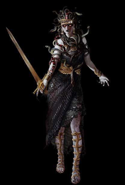 Assassin's Creed Odyssey Medusa : assassin's, creed, odyssey, medusa, Mitología