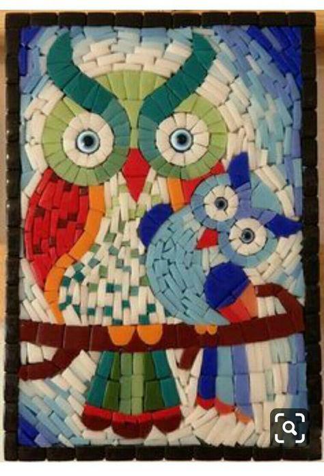 Gambar Mozaik Burung Hantu Pinterest Hashtags Video And Accounts
