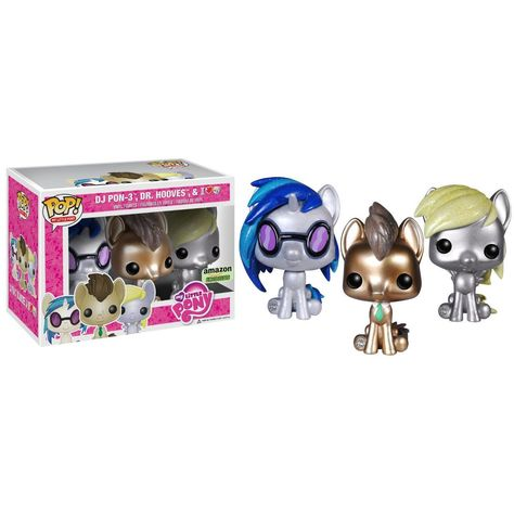 Funko Pocket POP New in Package HOOVES DR My Little Pony Keychain