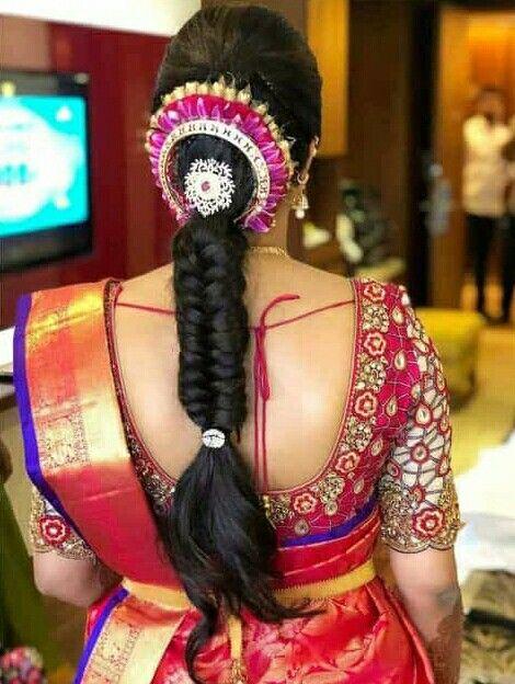 Hair Style Bridal Hairstyle Indian Wedding Indian Hairstyles Engagement Hairstyles
