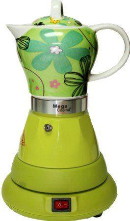 Electric Cordless Espresso Cuban Coffee Maker 4 Cups Color Green Review Cuban Coffee Cuban Coffee Maker Unique Coffee Maker