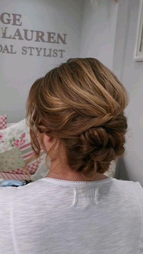 Mother of the bride, wedding hair ideas
