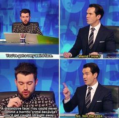 And when he gave this chilling response. | 21 Times Jimmy Carr Was The Most Hilarious Man In Britain