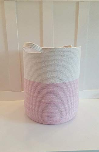 Extra Large Rope Basket Storage Extra Large Natural Cotton Woven