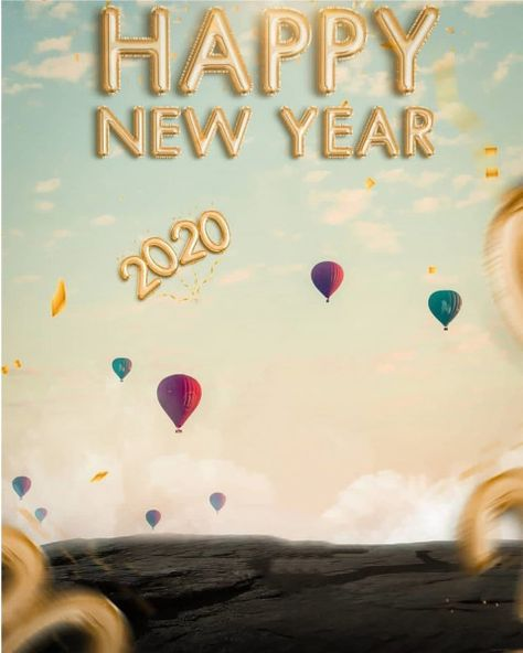 Happy New Year PicsArt Background 2020 Full HD (2)