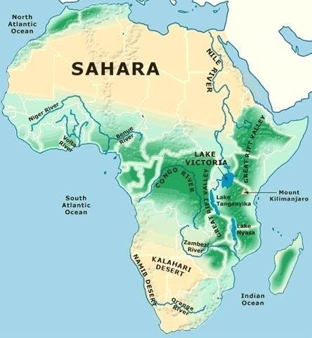 Map Of Africa Sahara.Sahara Desert On Map Of Africa Map Of Africa Sahara Desert Doberre