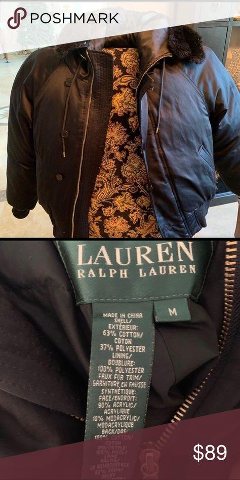 Ralph Lauren Hooded Faux Fur Jacket Ralph Lauren Hooded Faux Fur Jacket Jackets & Coats