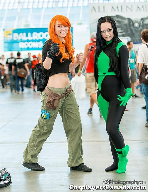 Kim Possible & Shego at SDCC 2014   Flickr - Photo Sharing! More