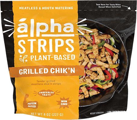 Chik N Strips In 2020 Food Plant Based Convenience Food
