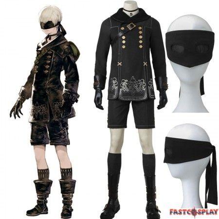 9 Type S Cosplay Costumes Halloween Cosplay 4 Pcs Set NieR Automat YoRHa No