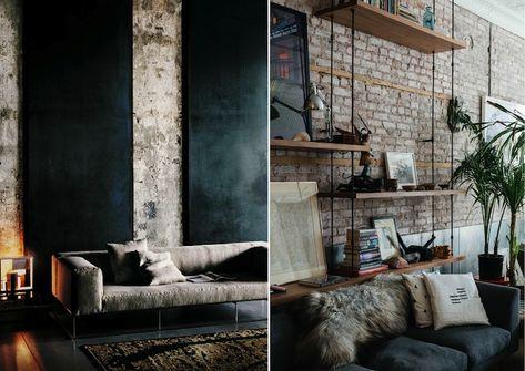 Captivating Industrial Interior Design Industrial Interior Design ...