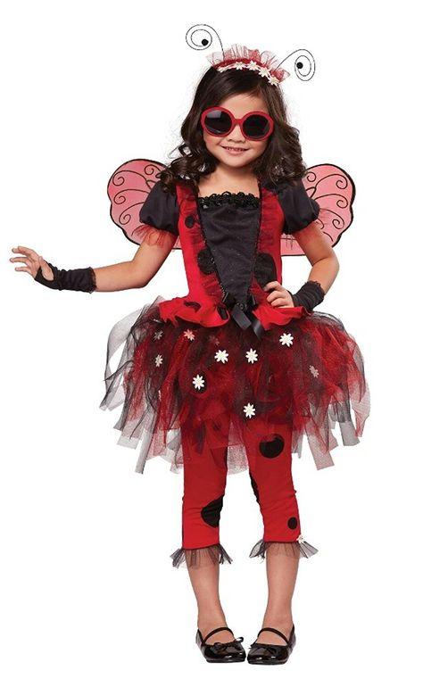 Child Lady Bug fancy Dress Costume age 4-11