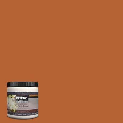 Accent Wall Color For Living Room Aroumd Fireplace, Maybe. BEHR Ultra 8 Oz  Morocco Red InteriorExterior Paint Tester At The Home Depot
