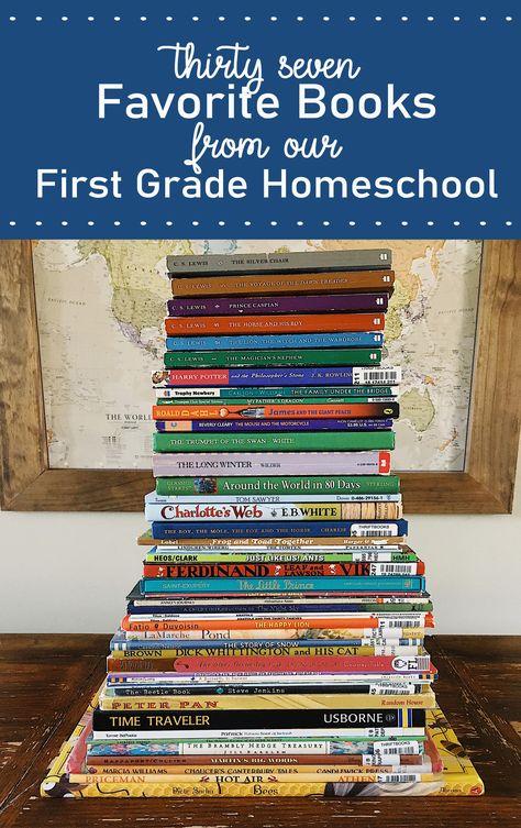 37 Favorite Books from First Grade Homeschool