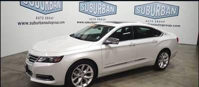 2015 Chevrolet Impala Ltz In Off White Cream Impala Ltz