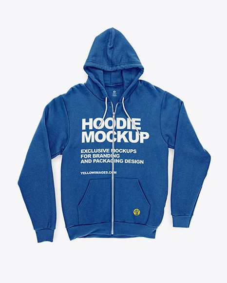 Download Full Zip Hoodie Mockup In Apparel Mockups On Yellow Images Object Mockups In 2020 Clothing Mockup Hoodie Mockup Full Zip Hoodie