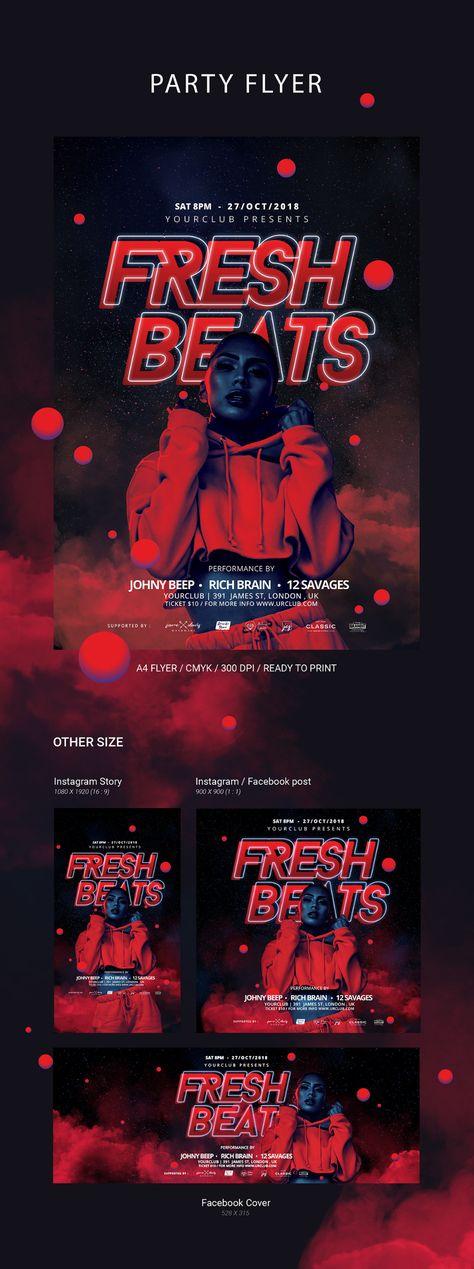 Party Flyer & Social Media Banner