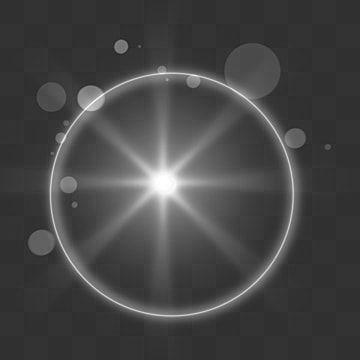 Dispersed Ring Radiation White Light Effect White Glow Dynamic Glare Lens Flare In 2021 White Light Garden Pots Light Effect