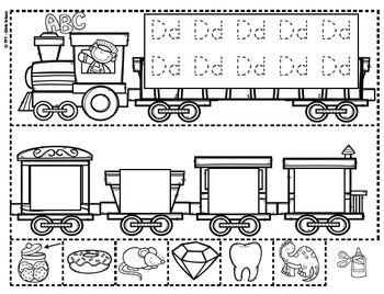 Yo Puedo Identificar Letras Y Sonidos El Tren Del Alfabeto Teacherspayteachers Abc Diagram