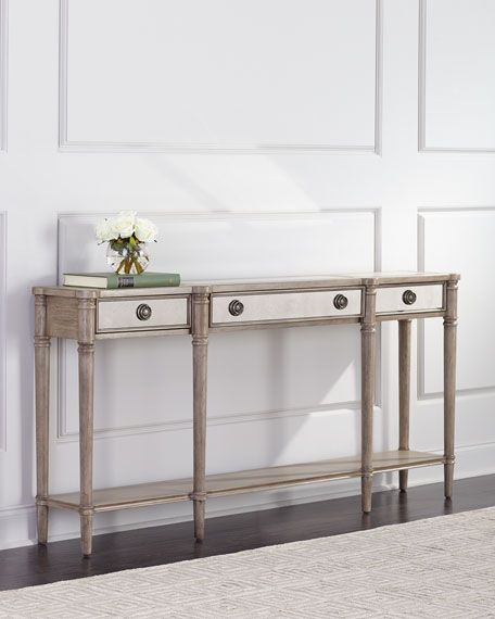 Alisa Mirrored Console Table With Images Mirrored Console Table Mirror Console Console Table