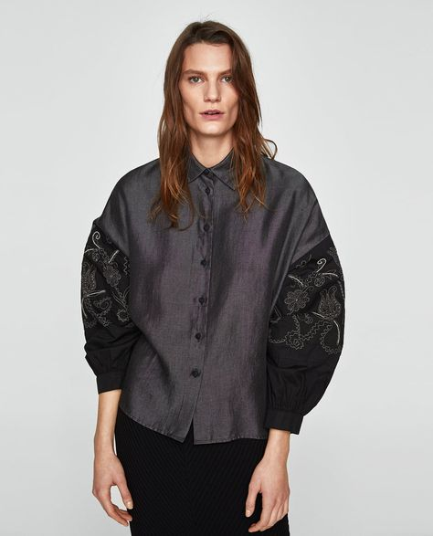 Women S New In Clothes New Collection Online Zara United Kingdom Frauen Shirt A W