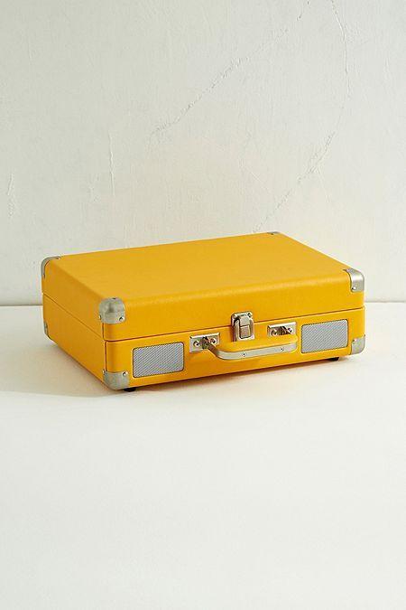 Crosley Cruiser Yellow Bluetooth Vinyl Record Player Vinyl Record Player Tech Accessories Electronic Music