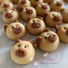 Piggy German Cocoa Butter Cookie Butter Cookies Pig Cookies