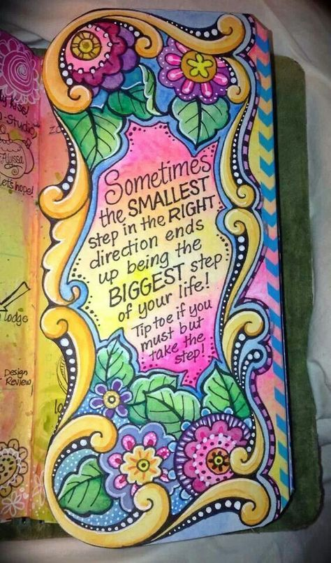 The message is inspiring, but so is the art. Wish I could have a page like this in my journal... Are you artistic? Start a gratitude journal with this as your inspiration... <3 http://www.financallyfreewoman.com/gratitude-journal.html