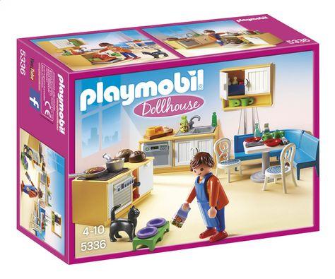 Playmobil Dollhouse 5336 Keuken Met Zithoek Voor Ona Pinterest   Playmobil  Badezimmer 4285