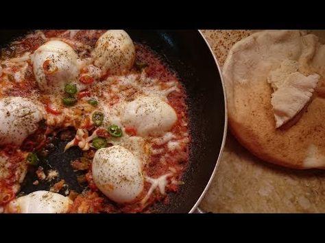 فطور صباحي بيض مسلوق بالجبن بطريقة جدا لذيذه من قناة المورزليرا Youtube Food Cooking Recipes