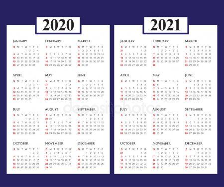 Year 2020 2021 Calendar Vector Design Template Stock Vector Sponsored Calendar Year Vector Stock Ad Calendar Vector Design Template 2021 Calendar