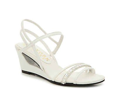 Wedge wedding shoes, Sandals, Wedge sandals