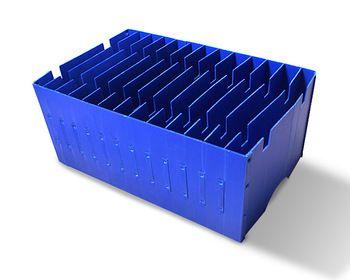Resistance Polypropylene Food Grade Pp Corrugated Corflute Plastic Divider Flat Packed Box Corrugated Plastic Corrugated Plastic Sheets Corrugated Fiberboard