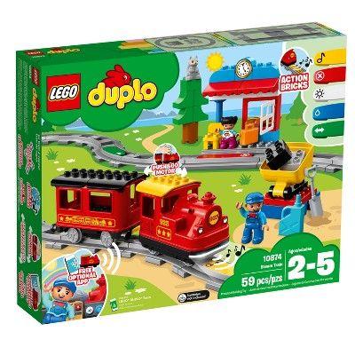Lego Duplo Town Steam Train 10874 Lego Duplo Train Lego Duplo Lego Duplo Town