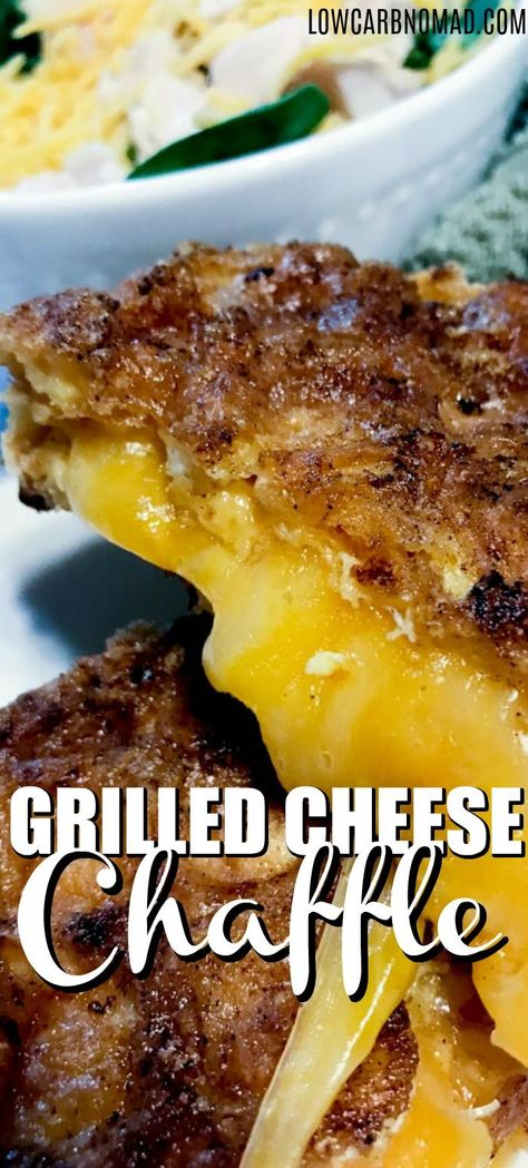 GRILLED CHEESE CHAFFLE